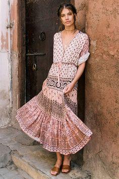 3a4e26e38865 Mila De Wit-Burke wears Spell Designs Lionheart Gown Bohemian Style  Clothing