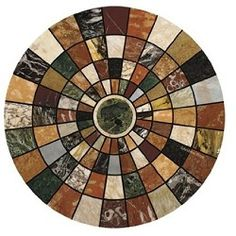 Add a rustic-chic touch to your coffee table or kitchen island with this sandstone and cork coaster, showcasing a mosaic-inspired motif. Product: Set of 4 coastersConstruction Material: Sandstone and corkFeatures: Naturally absorbentDimensions: Diameter Cool Coasters, Marble Coasters, Drink Coasters, Sandstone Coasters, Marble Mosaic, Mosaic Art, Mosaic Designs, Mosaic Ideas, Travertine