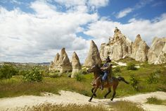 Cappadocia: best for horse riding When Turkey was part of the Persian Empire (547-333 BC), Cappadocia was famous for its beautiful horses, and they have retained an enviable reputation.  Make it happen: The Dalton Brothers, based at the stables behind Anatolian Balloons in Goreme, offers rides lasting from one hour to full-day treks.