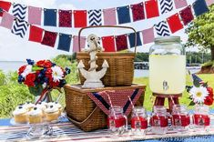 Throw a Memorial Day bash that will turn the whole neighborhood red, white, and patriotic!