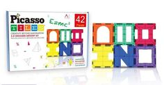 Highly-Rated Picasso Tiles 42-Piece Artistry Magnetic Building Set Only $24.99!