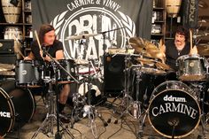 Rock on #VinnyAppice #CarmineAppice #DrumWarstheClinic #event #music #drum #drummers