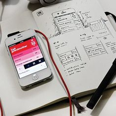 Inspiration Mobile #16 : Croquis et Wireframes | Blog du Webdesign   [L]