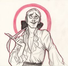 """alvadee: """" Wenn liiiebe in diiiir ist~ Herbert from Tanz der Vampire """" Pretty Drawings, Love Drawings, Costume Design Sketch, Interview With The Vampire, Hand Pose, Vampire Art, Rocky Horror Picture Show, Pose Reference, Art Blog"""