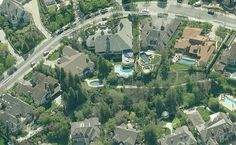 Amazing Aerial Photos Of Rapper Mansions Beautiful Home Designs, Beautiful Homes, San Fernando Valley, Woodland Hills, Celebrity Houses, Cribs, Rapper, City Photo, Tours