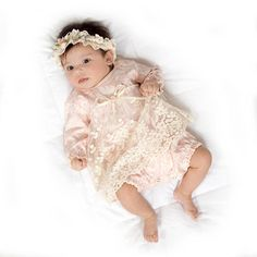 Pretty Baby Girl Lace Dress is perfect for special occasions and holidays.