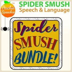 This 110 page no-prep awesomeness is part of my money saving Ultimate No Prep Bundle! This is a bundle containing two of my Spider Smush products PLUS Spider Smush Vocabulary pages that are only available in this bundle! No color ink required! Print and go!