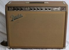 1963 FENDER VIBROVERB BROWN VINTAGE ELECTRIC GUITAR TUBE AMPLIFIER AMP RARE!    www.vintageandrare.com