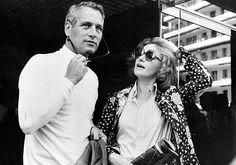 Paul Newman + Joanne Woodward