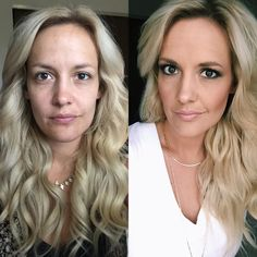 Before and after Younique makeup  #makeup #younique #beforeandafter #youniquemakeup, #glammakeup
