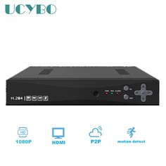 46.99$  Watch now - http://aliclo.worldwells.pw/go.php?t=32709863545 - 1080N CCTV AHD DVR Hybrid 4CH surveillance AHD-M 1080P NVR 3 in 1 network digital Video Recorder For security ip AHD Camera
