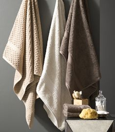 Plush weaves bring cozy relief to cold, wet skin.