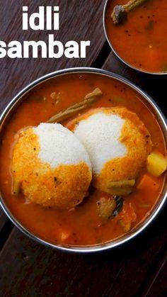 Veg Recipes, Curry Recipes, Spicy Recipes, Cooking Recipes, Paneer Recipes, Sambhar Recipe, Chaat Recipe, Idli Sambar, Indian Dessert Recipes