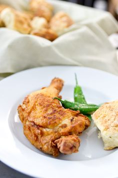 Fried Chicken.  Soak it in buttermilk overnight.  Season it however you want.  Fry in crisco (good, but not so healthy), or use vegetable oil with a stick of butter added to it.  ENJOY!
