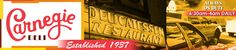 The One And Only Carnegie Deli for Cheesecake.  My car insurance agent demands it.