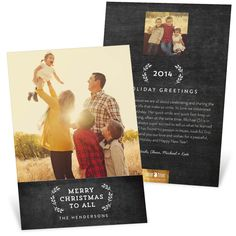 It's a Sneak! New Trends in Christmas Cards: Black & White #sneakpeek #christmas #peartreegreetings