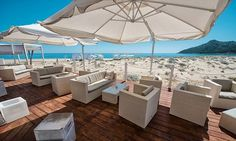 Is Fradis beach club was launched in a quiet corner of south east Sardinia