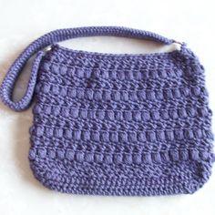 Puffy Seed Stitch Purse - Crochet Me
