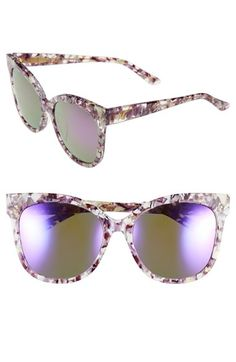 8c3a1384ad90 GENTLE MONSTER 53mm Oversized Cat Eye Sunglasses available at  Nordstrom  Glasses Arms