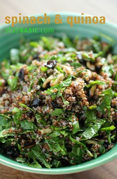 Check out the latest issue of #StayBasic for more carefully curated recipes! #salad #quinoa http://www.staybasic.com/the-magazine/