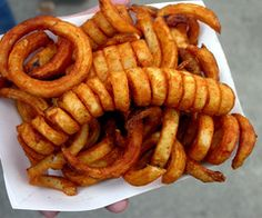that long curly fry <3