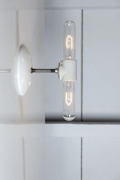 Double Bare Bulb Wall Sconce