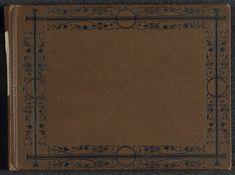 D.T. Dalton | Fotoalbum met 24 foto's van de reis van legertelegrafist D.T. Dalton door Tibet, D.T. Dalton, 1903 - 1906 | Fotoalbum in een bruin omslag. Op de voorzijde een zwart kader versierd met plantmotieven. Op de rug van het album is een label geplakt met daarop handgeschreven 'Col. Younghusband Thibet'. Op de binnenzijde van de voorkant staat handgeschreven 'The Roof of The World or Tibet 1906 DT Dalton'. Het album bevat 12 kartonnen bladzijden met 24 foto's in omkaderde…