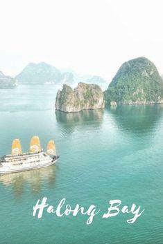 Dreamy Halong Bay.  #Vietnam #Halongbay #travel #travelasia