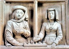 St. Thomas guild - medieval woodworking, furniture and other crafts: Medieval chess and variants