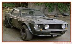 From the movie: Le Marginal w/ Belmondo 1967 Mustang Boss 302