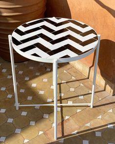 Table Zellige, Marrakech, Mosaic, Stool, Furniture, Instagram, Home Decor, Home, Budget