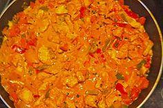 Cremiges Curry-Hühnchen mit Gemüse (Rezept mit Bild) | Chefkoch.de >