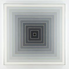 #FrankStella Untitled 1967 magnificent concentric square painting sold for $2 million,  Art 43 Basel.