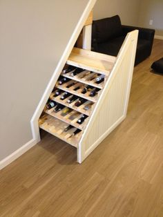 Under stair wine cabinet!