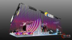 腾讯展台设计