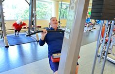 Retirees who want to live longer and enjoy those postwork years use their discretionary incomes to seek help with healthful eating and exercise.