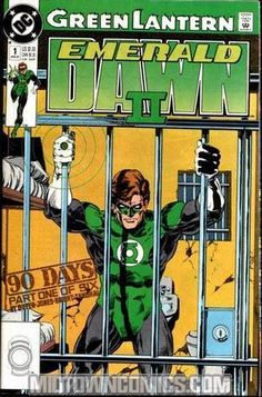 Green is the new black when Hal Jordan goes to jail in the just added #GreenLantern Emerald Dawn II back issues.