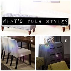Which decor style speaks to you: Classic/Traditional or Industrial Chic?  inspireathome.com What's Your Style, Industrial Chic, Instagram Fashion, Decor Styles, Traditional, Classic, Beautiful, Derby, Industrial Style