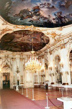 Vienna Schoenbrunn Palace Interior