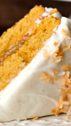 Pumpkin Layer Cake with Orange Ginger Filling and Cinnamon Cream Cheese Frosting ~ incredibly easy and absolutely delicious