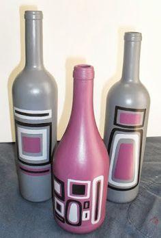 Reciclar, Reutilizar y Reducir : 15 formas fantásticas para decorar con botellas de cristal