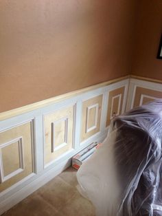 Brystningspanel/ Wainscoting