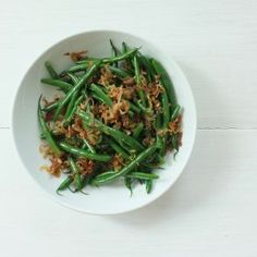 Green Beans with Caramelized Shallots by Jessica Seinfeld