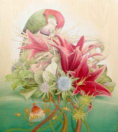 Beautiful art by Tiffany Bozic (The Raft)