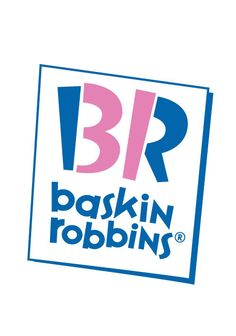 """The new Baskin-Robbins logo, in use since has the number 31 making part of the initials """"BR"""". Baskin-Robbins has always used its 31 flavours of ice cream (one for every day of the month) as a central part of its marketing. Baskin Robbins Logo, Create Logo, Popular Logos, Logo Simple, 10 Logo, Birthday Freebies, Hidden Images, Gluten Free Menu, Clever Logo"""