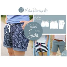 # 42 eBook - meine SURI - Shorts - Größe -- Meine Herzenswelt The Effective Pictures We Offer You About Women's Shorts older women A quality picture can tell you many things. You can find the mo Image Mode, Diy Kleidung, Swimwear Cover Ups, Outfit Jeans, Beach Wear, Beachwear For Women, One Piece Swimwear, Pulls, Diy Clothes