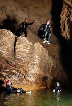 Blackwater Rafting in the Waitomo Caves, New Zealand