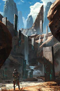 ArtStation - Knife River, Ryan Gitter