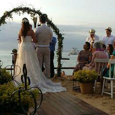 Casamento na Praia. Vanessa Aune Cerimonial!