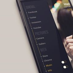 "23 Me gusta, 1 comentarios - betinho™ (@betinho_droid_designer) en Instagram: ""Elegant SideBar on my theme  MiniWall for Klwp  Your phone, your style  Grab it here …"""